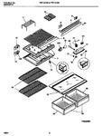 Diagram for 05 - Shelves, Controls, Divider, Mullion