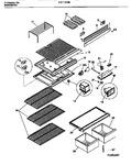 Diagram for 04 - Shelves, Controls, Divider, Mullion