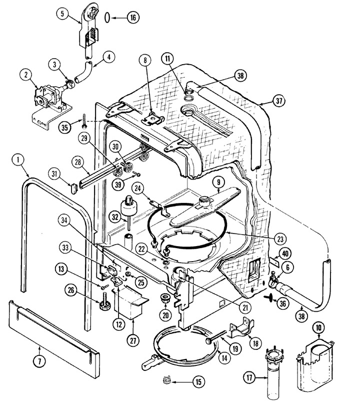 Diagram for DWUA500AAX
