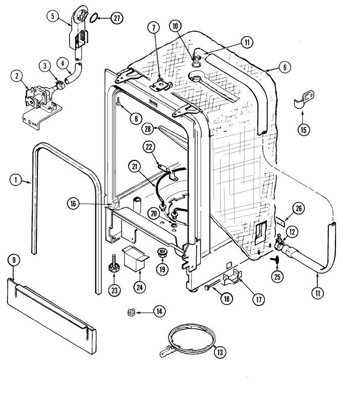 Diagram for DW711B