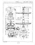 Diagram for 05 - Motor, Heater & Spray Arm