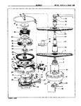 Diagram for 06 - Motor, Heater & Spray Arm