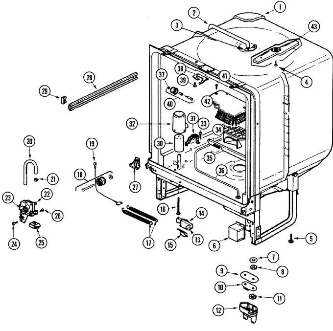 Diagram for DU7DN-25