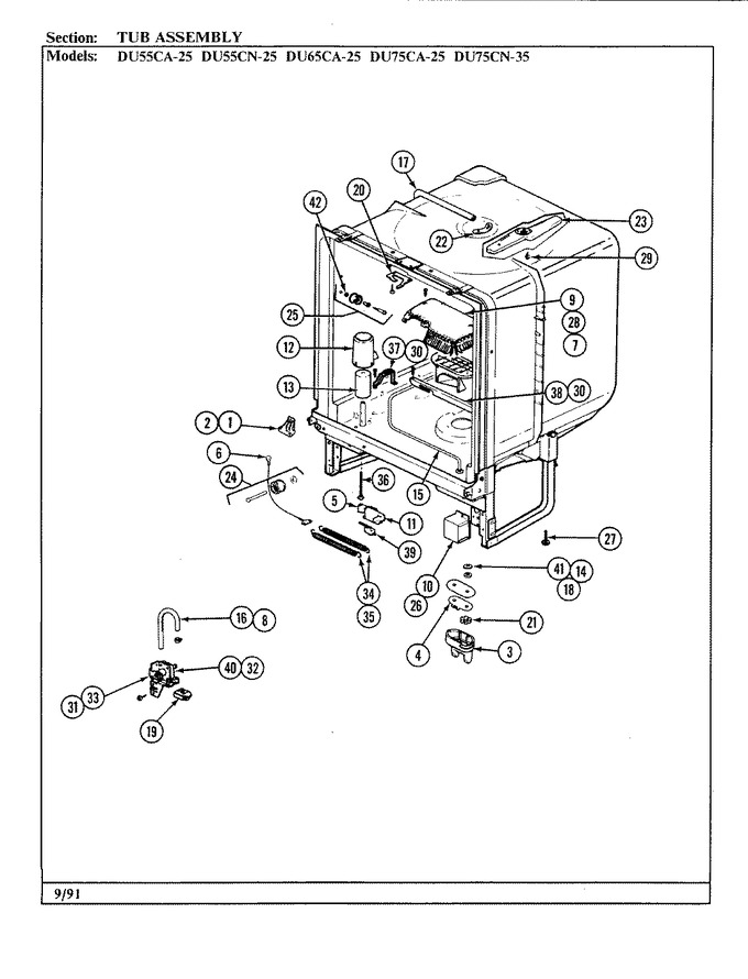 Diagram for DU75CN-35