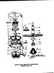 Diagram for 06 - Motor, Pump, And Spray Arm Details