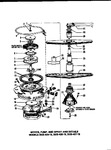Diagram for 07 - Motor, Pump, And Spray Arm Details