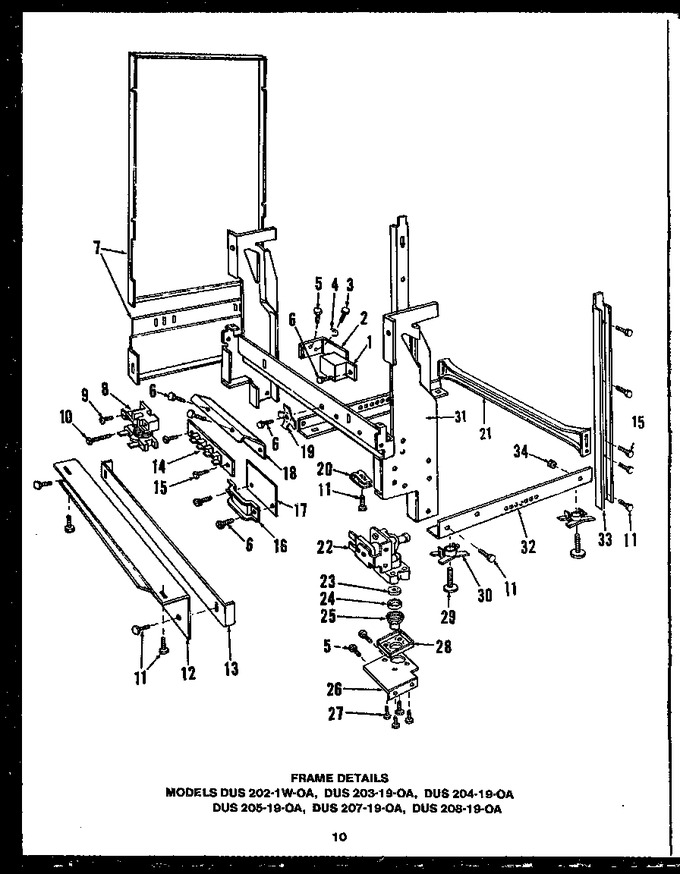 Diagram for DUS20819-OA