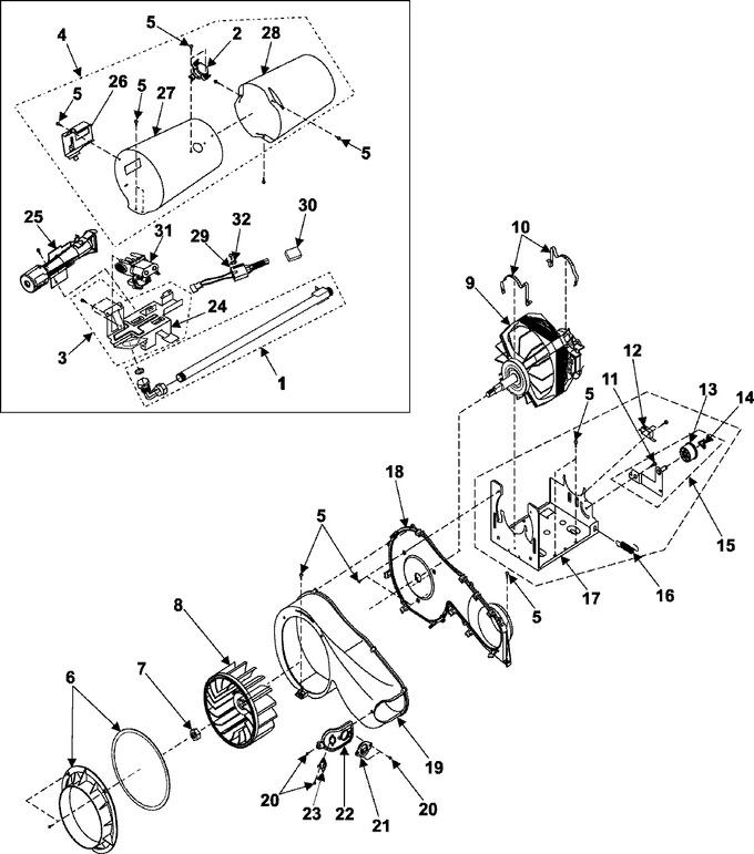 Diagram for DV316BGW/XAA