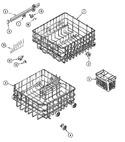 Diagram for 06 - Track & Rack Assembly