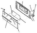 Diagram for 05 - Oven Door Assy