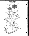 Diagram for 02 - Cook Top Module Ked 305-25