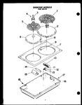 Diagram for 02 - Cooktop Module Ked 305-25