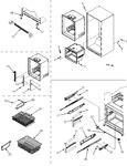Diagram for 08 - Interior Cabinet/frz Shelves/toe Grille