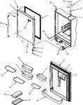 Diagram for 10 - Refrigerator Door