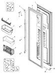 Diagram for 06 - Freezer Door