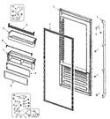 Diagram for 06 - Fresh Food Door