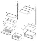 Diagram for 09 - Shelves & Accessories (fresh Food)