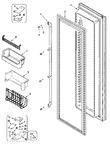 Diagram for 05 - Freezer Door