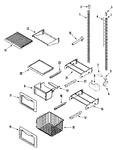 Diagram for 08 - Shelves & Accessories (freezer)