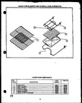 Diagram for 01 - Lw Oven Elements & Internal Oven Acs
