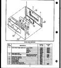 Diagram for 05 - Oven Door Assy W/window