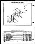 Diagram for 09 - Upper Oven Control Panel Assy