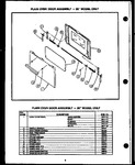 Diagram for 06 - Plain Oven Door Assy - 20`` Model Only