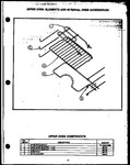 Diagram for 07 - Up Oven Elements & Internal Oven Acs