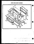 Diagram for 08 - Upper Oven Cabinet Assy
