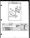 Diagram for 04 - Oven Door Parts