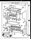 Diagram for 08 - Upper Oven Parts