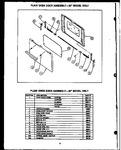 Diagram for 06 - Plain Oven Door Assy--20`` Model Only