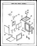 Diagram for 01 - Lower Oven Cabinetassy