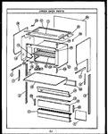 Diagram for 04 - Upper Oven Parts