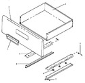 Diagram for 03 - Fixed Panel & Storage Drawer Assy