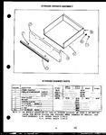 Diagram for 08 - Storage Drawer Parts
