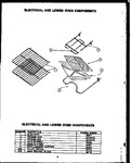 Diagram for 03 - Electrical And Lower Oven Components