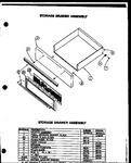 Diagram for 05 - Storage Drawer Assy
