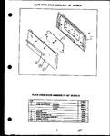 Diagram for 07 - Plain Oven Door Assy-30`` Models