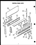 Diagram for 01 - Control Panel Parts