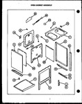 Diagram for 03 - Oven Cabinet Assy