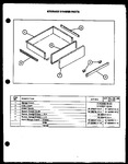 Diagram for 05 - Storage Drawer Parts