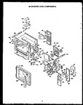 Diagram for 02 - Microwave Oven Components