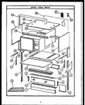 Diagram for 09 - Upper Oven Parts