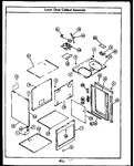 Diagram for 02 - Lower Oven Cabinet Assy