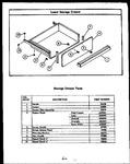 Diagram for 03 - Lower Storage Drawer