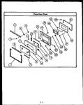 Diagram for 05 - Oven Door Parts