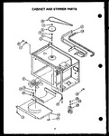 Diagram for 01 - Cabinet And Stirrer Parts