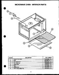 Diagram for 07 - Microwave Oven - Interior Parts