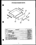 Diagram for 10 - Storage Drawer Parts